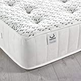Happy Beds Cashmere 3000 Pocket Sprung Memory and Reflex Foam Mattress Cashmere Fabric 4'6