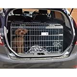 PET WORLD Ford Fiesta 2017 + Dog Puppy Pet sloped Car travel training carrier crate, cage,