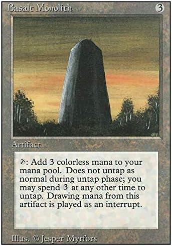 MTG Basalt Monolith x1 Revised Available 4