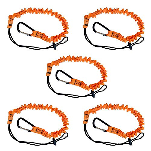 RUNMIND 3 Foot Safety Tool Lanyard, Tough Scaffold Hard Hat Lanyard with Carabiner, Adjustable Loop End, Ultra-Durable, Premium Quality Materials Ideal for Scaffold, Tools, Construction