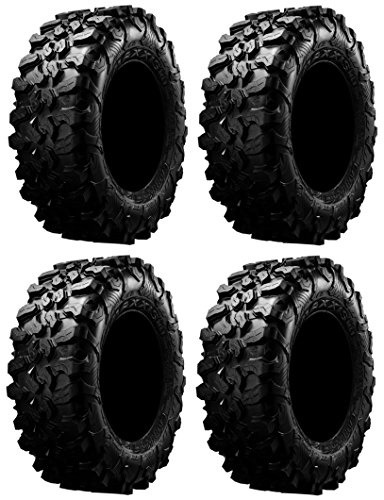 Full set of Maxxis Carnivore Radial (8ply) ATV Tires 32x10-15 (4)