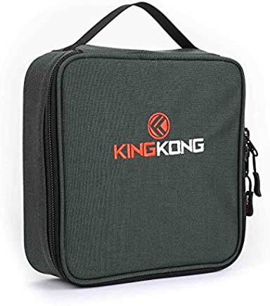 """King Kong Insulated Meal Bag 1000D Nylon Exterior - Insulated Thermal Polyester Lunch Bag, Military Spec Nylon Cooler Bag - 10"""" x 10"""" x 3"""""""