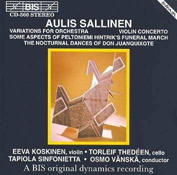 Sallinen: Variations for Orchesta, Op. 8 / Violin Concerto, Op. 18