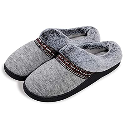 Harebell Women's Slippers Comfy Faux Fur Me...