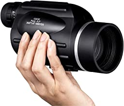 Adult Monocular, 13X50 HD Waterproof And Anti-Fog Mini Portable Handheld Telescope, Lined Ranging, for Mobile Photographing, Bird Watching, Camping Hunting