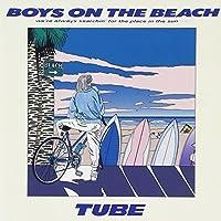 Boys on the Beach by Tube (2003-07-02)