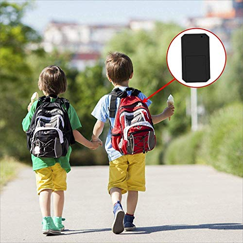 ZEERKEER Mini GPS Tracker Magnetic Mini GPS Locator Anti-Theft Anti-Lost Real Time Micro GPS Tracking Device for Kids, Elderly, Wallet, Luggage and Important Document(TK901)