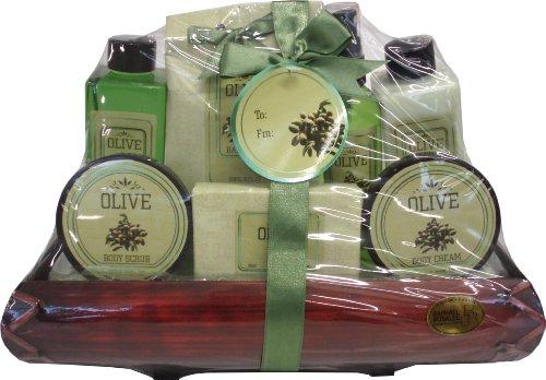 Raphael Rosalee Cosmetics Geschenkset Olive Nr. 4, Olive (7-teilig)