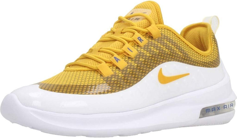 Nike Damen Damen WMNS Air Max Axis Prem Laufschuhe, Weiß gelb  100% echte Gegengarantie