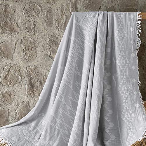 ElfRoutes Copridivano & Copriletto - Copridivano Molto Ampi (140x160 cm) - Copridivano 100% Cotone...