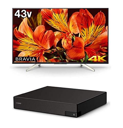 ソニー SONY 43V型 4K対応 液晶 テレビ ブラビア KJ-43X8500F B (4Kチューナー BS/CS4K 地上デジタル 裏録対応 ダブルチューナー DST-SHV1 付 )