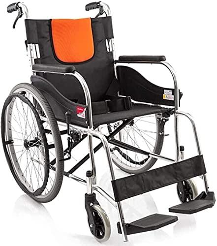 SXDYJ Portátil Multifuncional portátil for Silla de Ruedas, Tubo de Acero Completo Almacenamiento Plegable Reforzado Viaje Anciano Bandeja for sillas de Ruedas (Color : H050c)