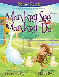 Monkey See, Monkey Do Children's Picture Book