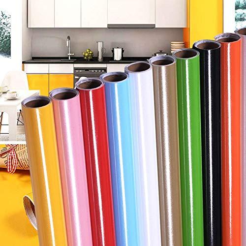 VIOYO muurstickers, 60 x 200 cm, meubels, anti-olie, wandsticker, keuken, behang, waterdicht, mat, robuust, kleur, hittebestendig, huisdecoratie, zelfklevend