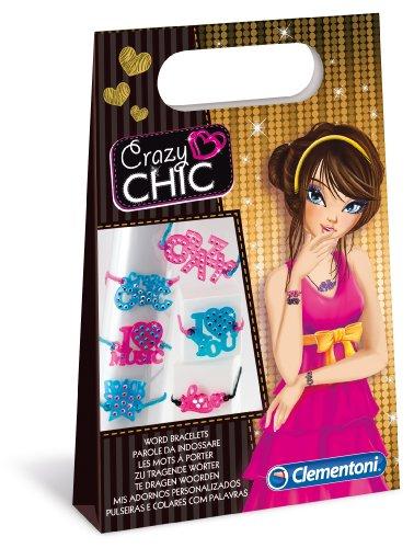 Crazy Chic Clementoni Accessoires avec Message
