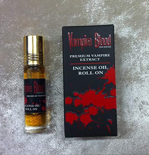 Nandita VAMPIRE BLOOD Incense Oil Roll On - Premium Vampire Extract - 8mL Per Bottle (1)