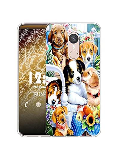 Sunrive Kompatibel mit Doogee F5 Hülle Silikon, Transparent Handyhülle Schutzhülle Etui Hülle (Q H& 1)+Gratis Universal Eingabestift MEHRWEG