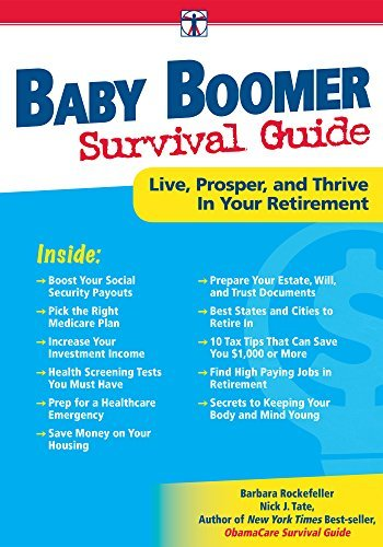 Live, Prosper, and Thrive in Your Retirement DaVinci's Baby Boomer Survival Guide (Paperback) - Common