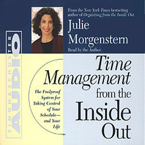 Time Management From The Inside Out audiobook cover art