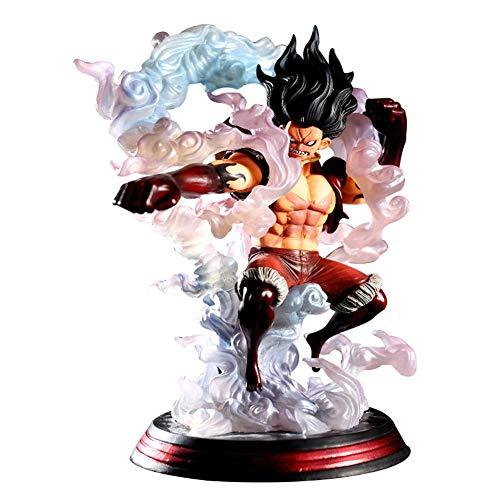 ALTcompluser Anime One Piece Monkey D Luffy Snakeman PVC Figur Statue Actionfigur Sammelfigur