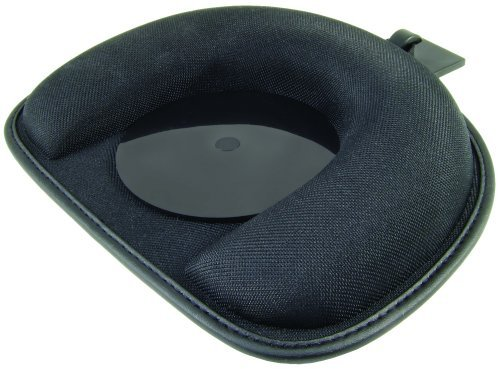 Navitech in Car Windscreen and Universal Dashboard Friction Mount with Safety Anchor (beanbag) Compatible with The All Sat Navs/GPS