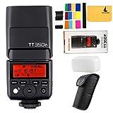 Godox TT350F 2.4G HSS 1/8000s TTL GN36 Camera Flash Speedlite for Fuji X-Pro2 X-T20 X-T2 X-Prol X-T10 X-El X-A3 X100T etc Digital Camera