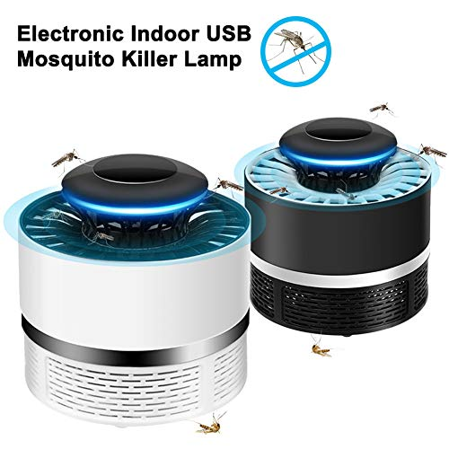 USB Elektrisch Muggenspray Draagbaar Geen Straling Insectenval Fotokatalysator Fly Bug Killer Lamp Sensor Ongediertebestrijding Home