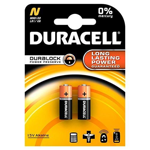 20x Duracell Alkaline Batterie N LR1 Lady MN9100 910A / Neuste Version! Frei von umweltschädlichen Stoffen wie Cadmium oder Quecksilber (20er Set)