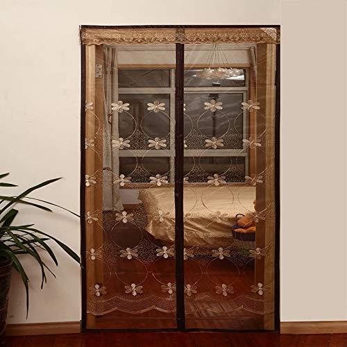 Sommer Mücke Soft Screen Tür magnetische Insekten Vorhang Teiler Netz Fliegengitter Insekt Anti-Moskito Netz Tür Bildschirm A2 B110xH210