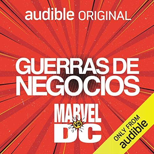 Guerras de Negocios - Marvel vs DC [Business Wars - Marvel vs DC] audiobook cover art