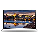 HOUSEHOLD Smart Network TV, LCD Ultra-Clear HDR Internet TV, Ultra-Thin Ultra-Clear Resolution LED TV Que se Puede conectar a WiFi