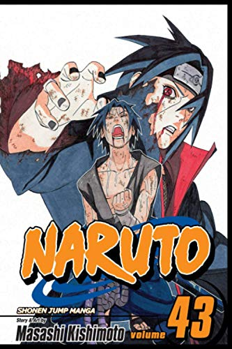 """Composition Notebook: Naruto: Shippuden Vol.43 Anime Journal/Notebook, College Ruled 6"""" x 9"""" inches, 120 Pages"""