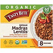 Tasty Bite ORGANIC Tasty Bite Indian Madras Lentils (8 x 10 oz Pouches)