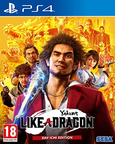 Yakuza: Like A Dragon – Day ICHI Steelbook Edition PS4 - Other - PlayStation 4