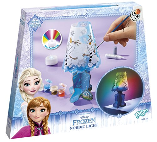 Totum 680135 - Disney Frozen, Die Eiskönigin Olaf Nachtlicht Lampe Bastel Set