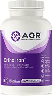 AOR - Ortho Iron 30 Capsules - Superior Absorption & Gastric Tolerability