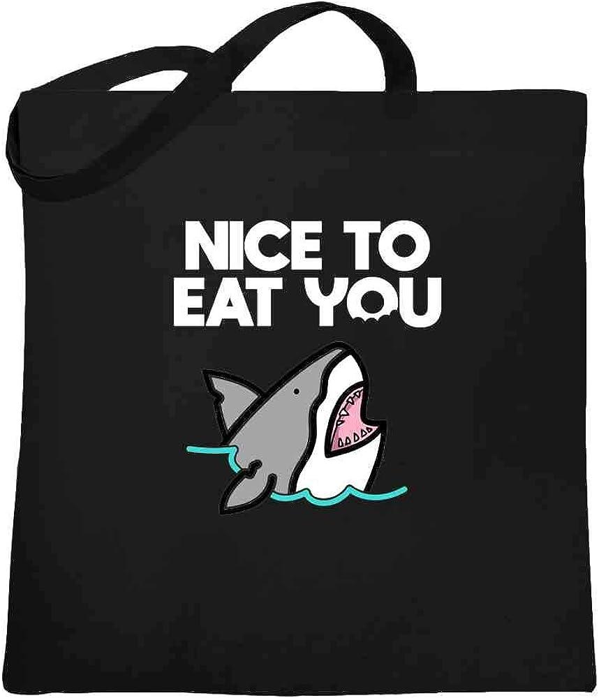 Shark Jaws Megalodon Shark Attack Movie Vintage Large Canvas Tote Bag Women