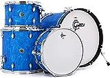 Gretsch Drums Drum Set, Blue Satin Flame (CT1-J404-BSF)