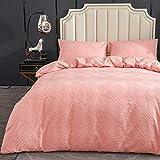MYLUNE HOME Juego de ropa de cama 100% algodón, 135 x 200 cm, diseño vintage, funda nórdica con funda de almohada de 50 x 75 cm