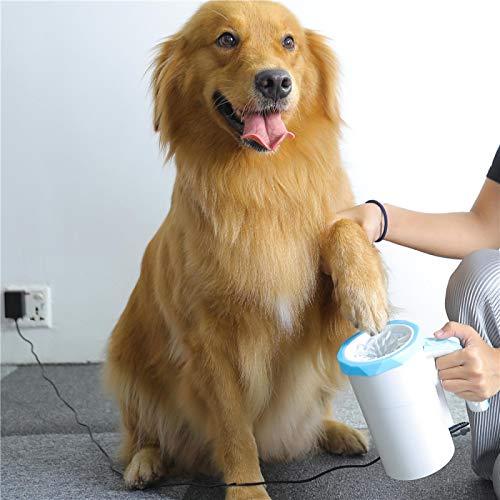 Esterilización inteligente Limpiador de patas de perro, Desinfección Lavadora de pies para mascotas integrada, Carga USB automática, Taza de lavado de pies, Taza de limpieza de patas de gato y perro
