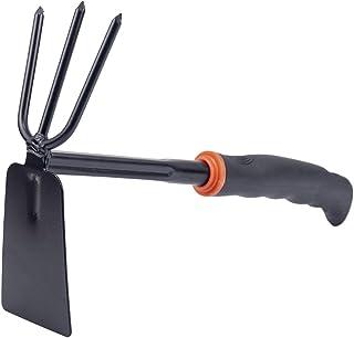 Garden Hoe, Multi-Purpose Carbon Steel Hoe, Suitable for transplanting, Weeding, loosening and Other Gardening Work…