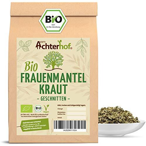 Frauenmanteltee Bio (100g) Frauenmantel-Kraut Tee | Schadstoffkontrolliert | aus kontrolliert biologischen Anbau | vom Achterhof