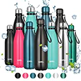 Umi. by Amazon - Botella Agua Acero Inoxidable, Termo 500ml, Sin BPA, Islamiento...