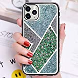 OcaseQ Coque Paillettes Bling Compatible avec Iphone 12 Pro Max Housse de Protection Placage Strass...