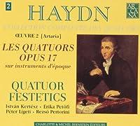 Quatuors Op. 17 by JOSEPH HAYDN