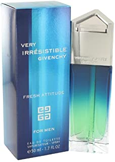 Very Irresistible Fresh Attitude by Givenchy for Men Eau De Toilette Spray 1.7 Ounce