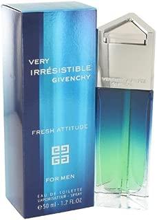 Very Irresistible Fresh Attitude by Givenchy for Men Eau De Toilette Spray 1.7 Ounce
