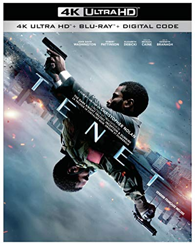 Tenet (BIL/ Blu-ray + Digital + 4K Ultra HD)