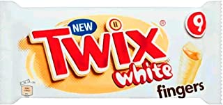 Twix White Limited Edition chocolate bars 9x23g (Case of 6)