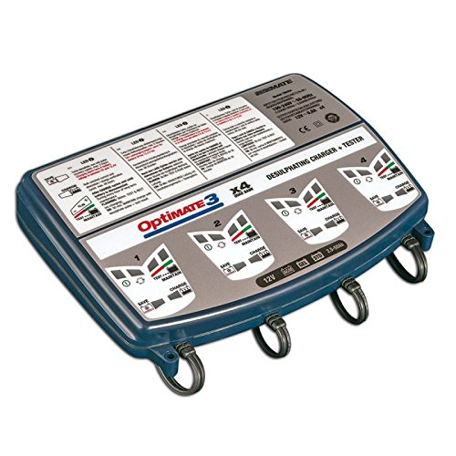 Optimate 3 X 4 - Chargeur de Batterie 3 x 4 Sorties